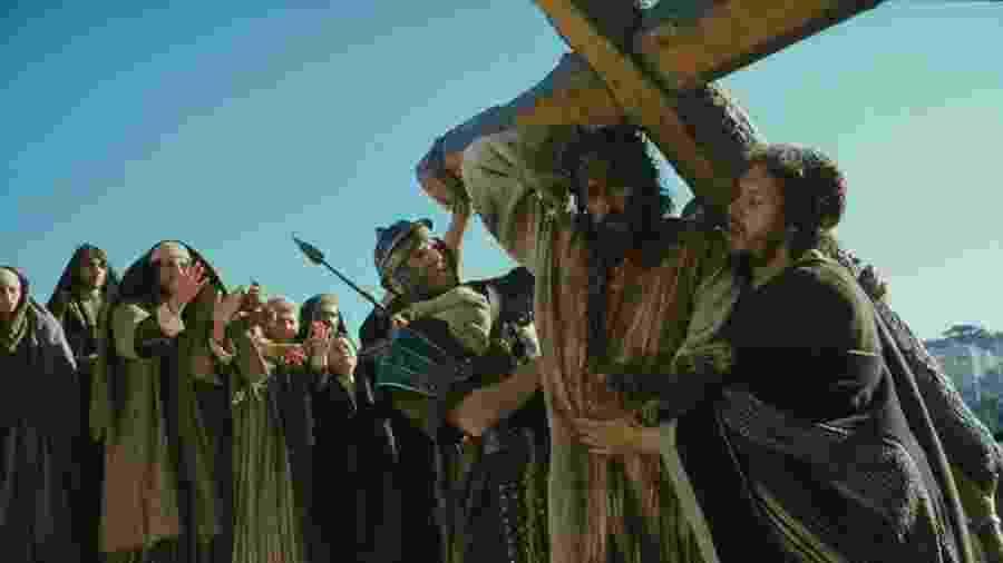 """Cena do filme """"A Paixão de Cristo"""" - Reprodução"""