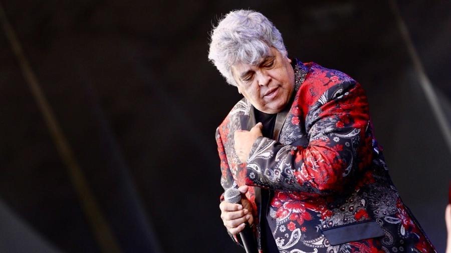 Sidney Magal se apresenta no palco Alegria no Vale do Anhangabaú - Mariana Pekin/UOL