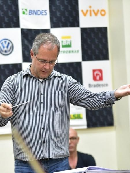 Maestro Edilson Venturelli - Léo Franco/AgNews