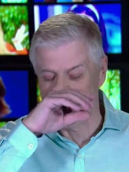 Falabella vai às lágrimas em homenagem a Márcia Cabrita - Reprodução/TV Globo