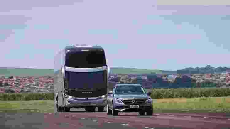 Mercedes-Benz O500 ACC Classe C - Divulgação - Divulgação