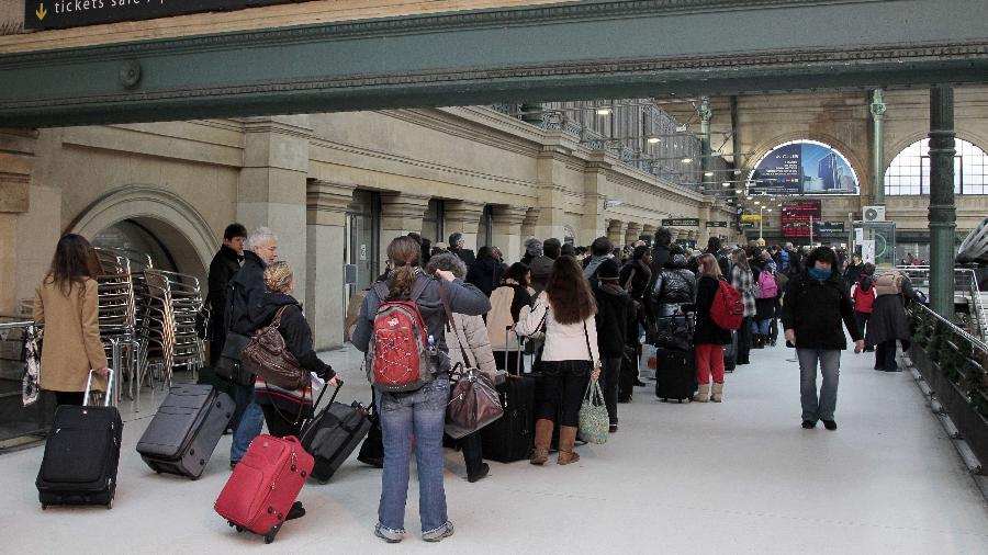 Gare Du Nord, em Paris - AFP