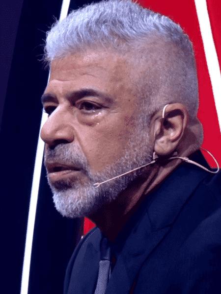 """Lulu Santos se emociona em apresentação de Priscila Tossan nas quartas de final do """"The Voice Brasil"""" - Reprodução - Reprodução"""