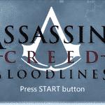 Assassin's Creed Bloodlines - Reprodução