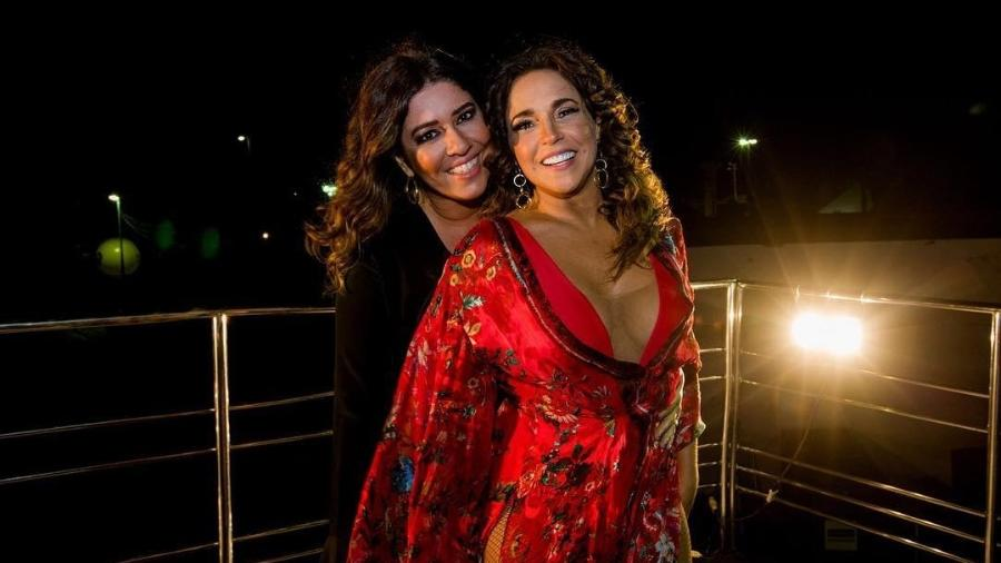 Daniela Mercury e a mulher, Malu Verçosa, estão juntas há seis anos - Reprodução/Instagram/@danielamercury