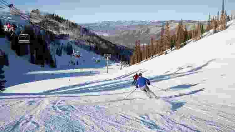 Esqui em Aspen, nos Estados Unidos - Getty Images/iStockphoto - Getty Images/iStockphoto