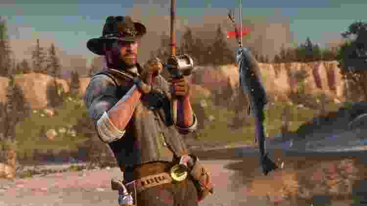 Funcionários de Red Dead Redemption 2 chegaram a trabalhar 100 horas na semana - Reprodução