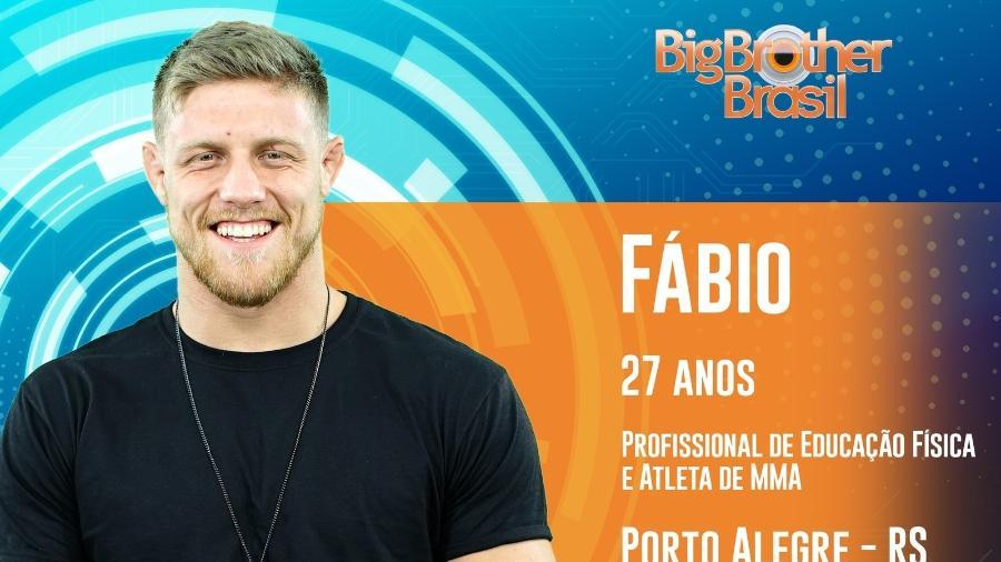 """Fábio Alano, sexto participante anunciado no """"BBB 19"""", foi eliminado do programa - Reprodução/GShow"""