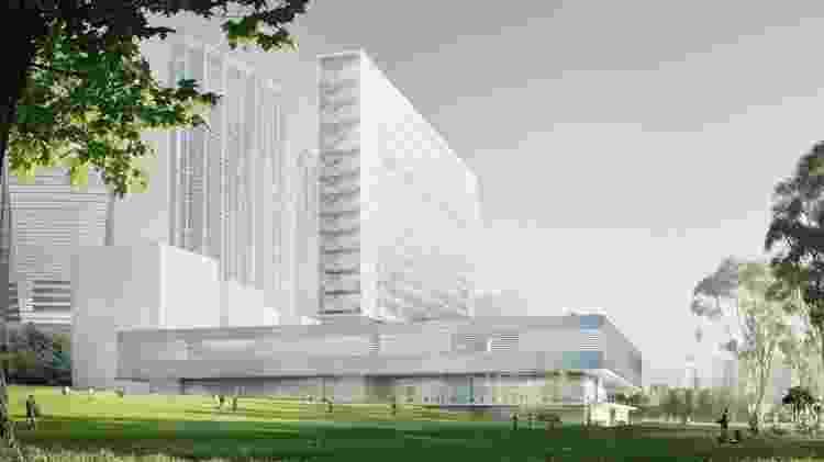 O Museu M+, que será inaugurado em Hong Kong - Reprodução - Reprodução