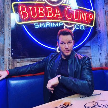 Chris Pratt lembra dos tempos de garçom - Restaurante