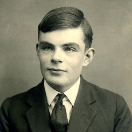 O cientista Alan Turing (1912-1954) - Sherborne School/Arquivo/AFP
