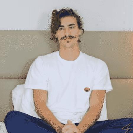 Bruno Montaleone no canal de Matheus Mazzafera - Reprodução/Instagram