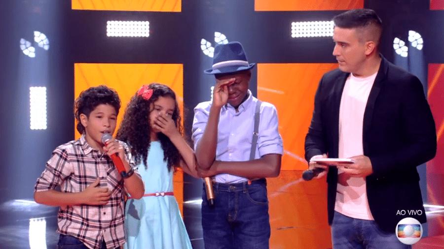 The Voice Kids chega à fase de eliminação - Reprodução/TV Globo