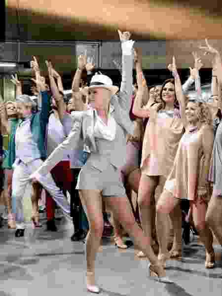 Xuxa em gravação para o Dancing Brasil  - Divulgação  - Divulgação