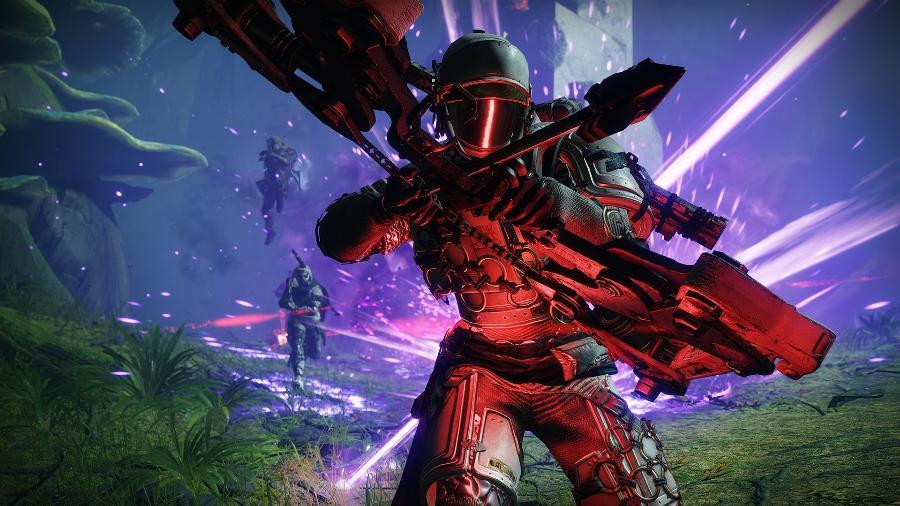 """""""Destiny 2"""" foi lançado em 2017 e ganhou várias expansões; próxima grande mudança chega em outubro - Divulgação"""