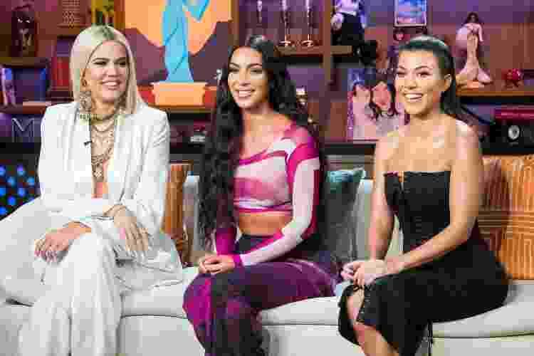 As irmãs Kardashian: Khloé, Kim e Kourtney - Getty Images - Getty Images