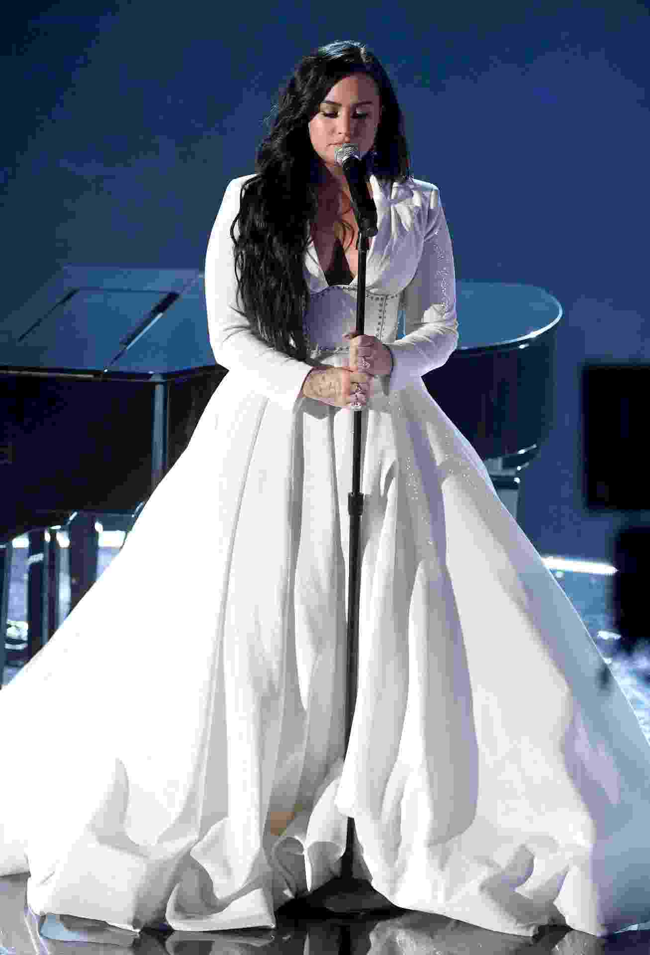 Demi Lovato se apresenta no Grammy 2020 - Kevin Winter/Getty Images for The Recording Academy