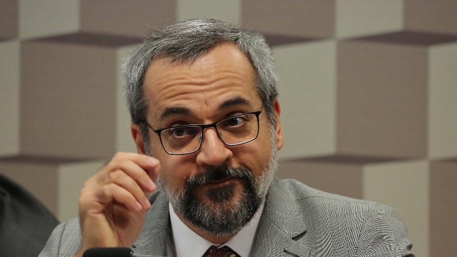 O Ministro da Educação, Abraham Weintraub, nega ser racista - Estadão Conteúdo