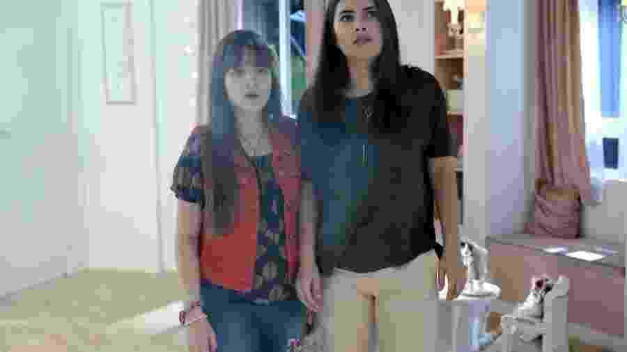 Poliana ajuda Luisa a encontrar a passagem secreta - Lourival Ribeiro / SBT
