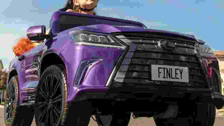 Lexus LX feito para crianças com paralisia cerebral - Divulgação