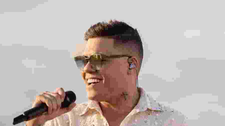O cantor Felipe Araújo - Divulgação