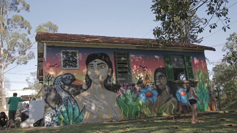 Casa Ecoativa, na Ilha do Bororé, zona sul de São Paulo, tem atividades de educação ambiental - Adriana Terra
