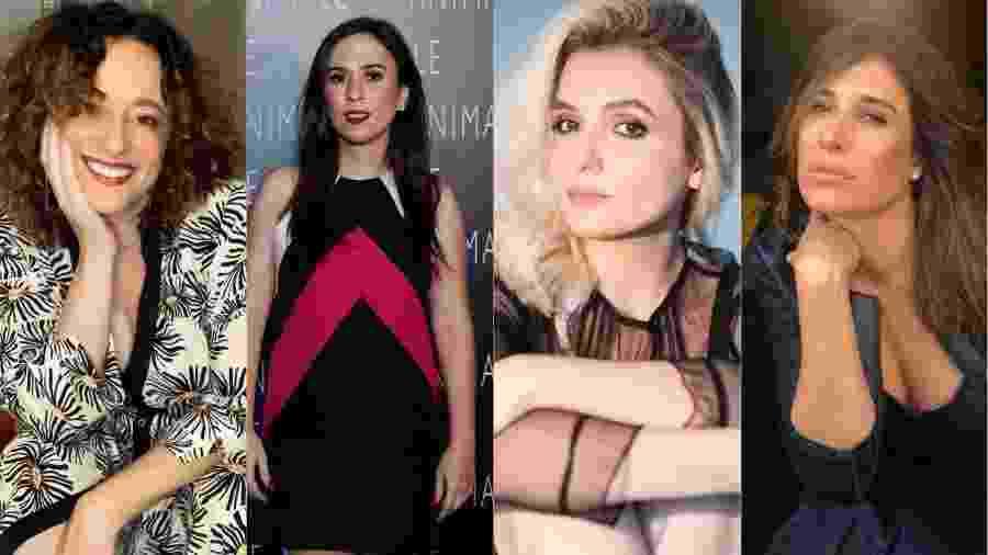 Paula Braun, Tatá Werneck, Mônica Iozzi e Giselle Itié manifestaram apoio a Juliana Lohmann - Reprodução/Instagram