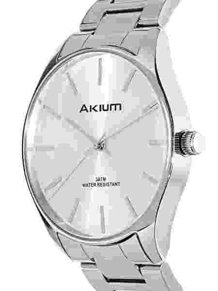 Relógio Akium Masculino Aço - TMG7138A (2) - Divulgação - Divulgação