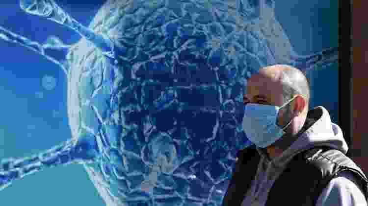 A máscara reduz a chance de ter sintomas graves de covid-19, dizem os pesquisadores - Getty Images - Getty Images