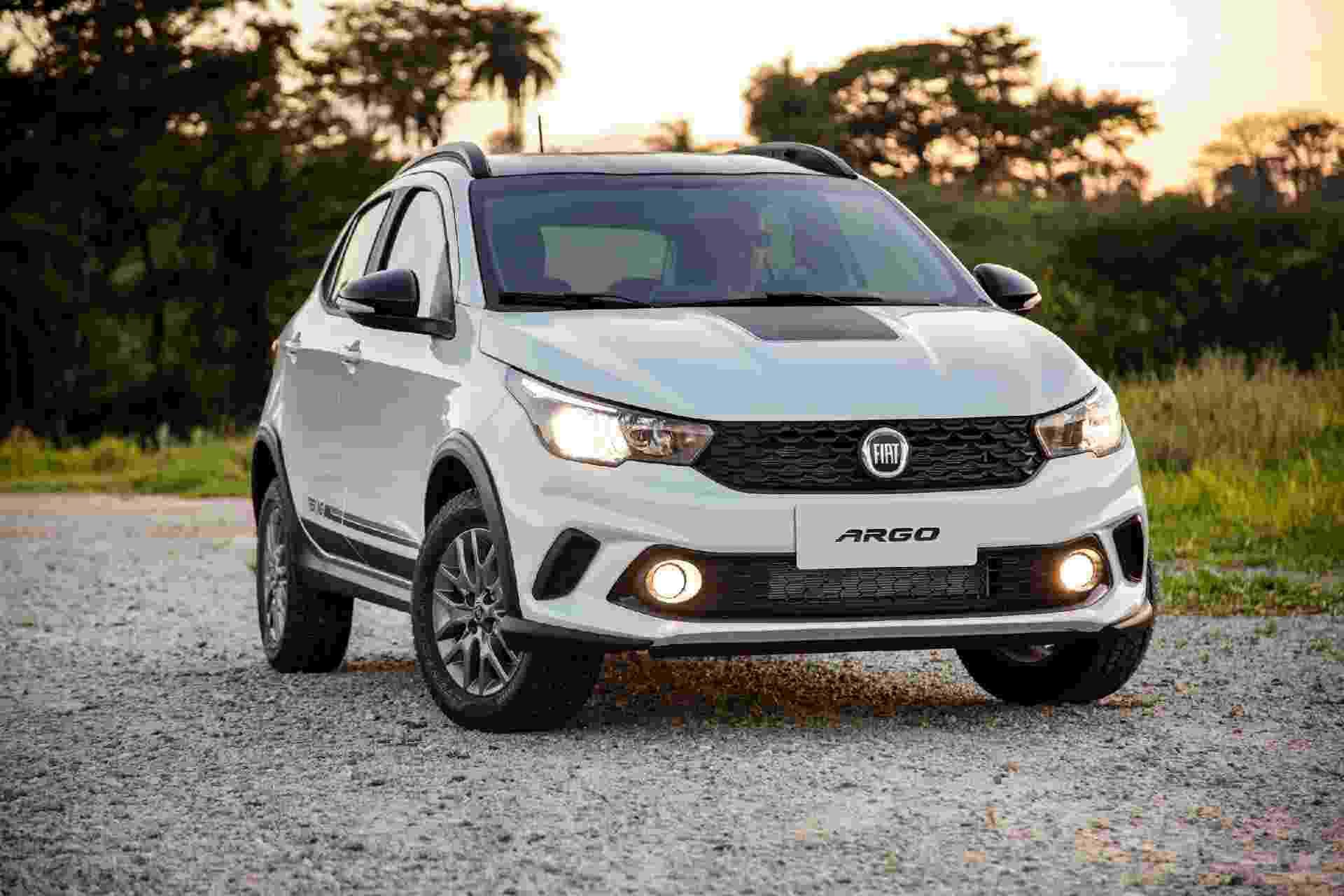 Fiat Argo Trekking - Divulgação