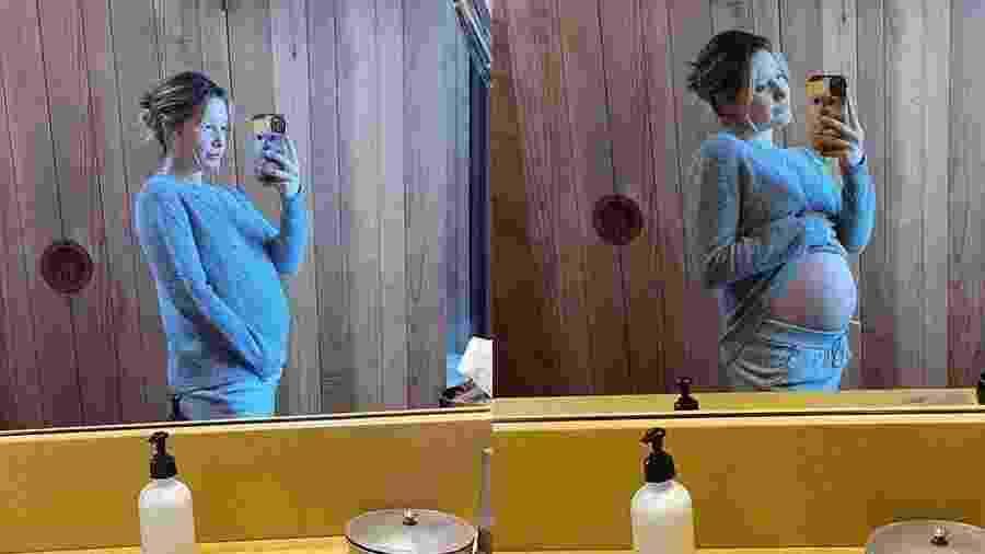 Ashley Tisdale exibiu a barriga de 5 meses nas redes sociais - Reprodução/Instagram