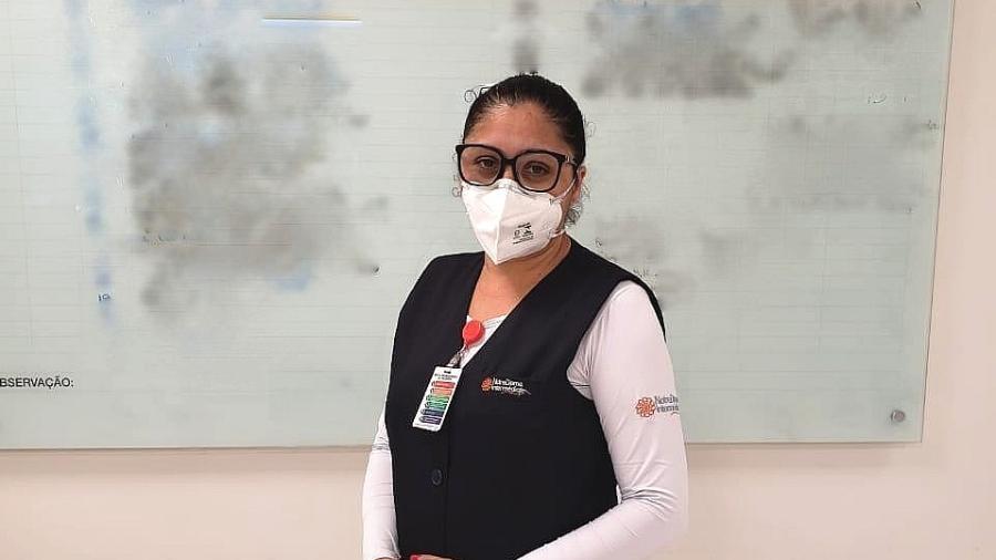 Maria Aparecida Marques Pereira é enfermeira de hospital em SP - Arquivo pessoal