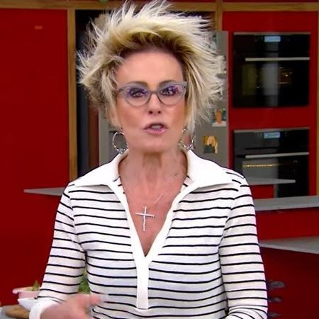 Ana Maria Braga teria terminado casamento sem dar explicações: existe o ghosting por sobrevivência, aquele que a gente faz para sobreviver. - Reprodução/TV Globo