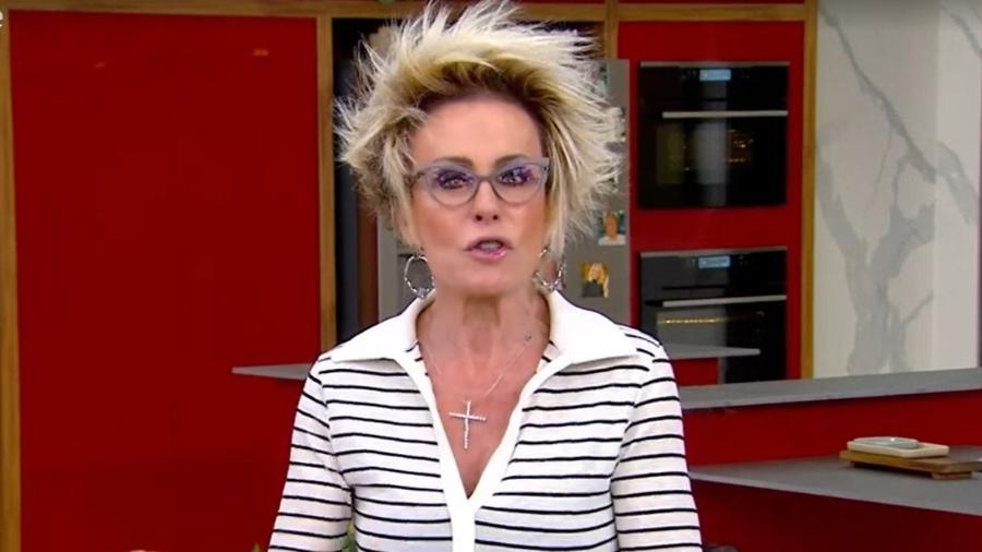 """""""Falta de respeito com os outros"""", disse Ana Maria Braga no """"Mais Você"""" - Reprodução/TV Globo"""
