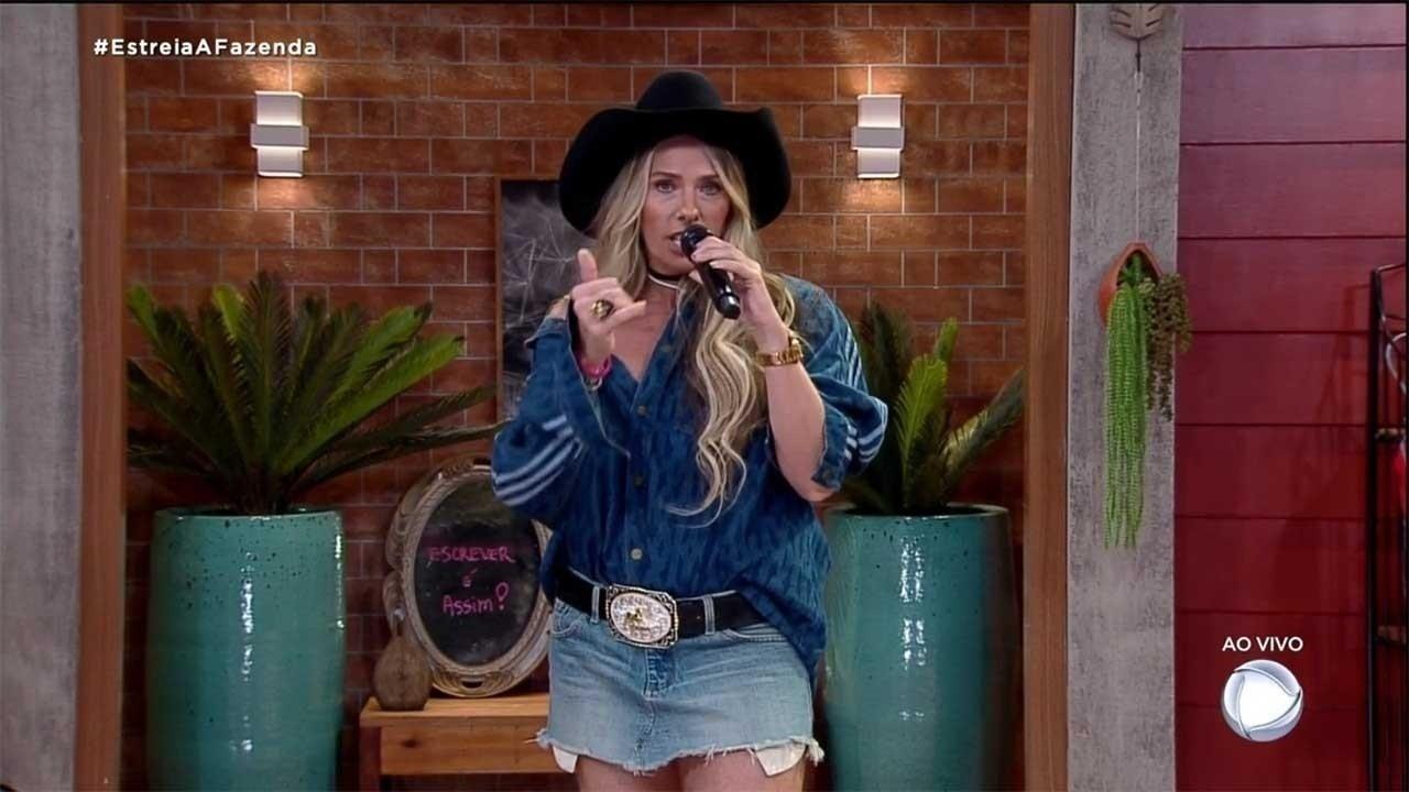A Farm 2020: Adriane Galisteu estrena un look de Beyoncé - clon / Instagram