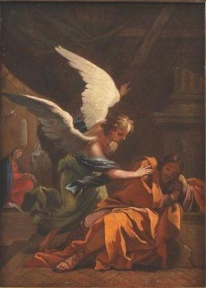 """Pintura """"El sueño de San José"""", de Francisco de Goya - Reprodução"""