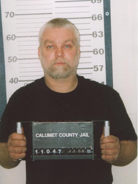 """Cena do documentário """"Making a Murderer"""" mostra Steven Avery como prisioneiro do estado de Michigan após ser condenado pela morte de Teresa Halbach - Divulgação/Netflix"""
