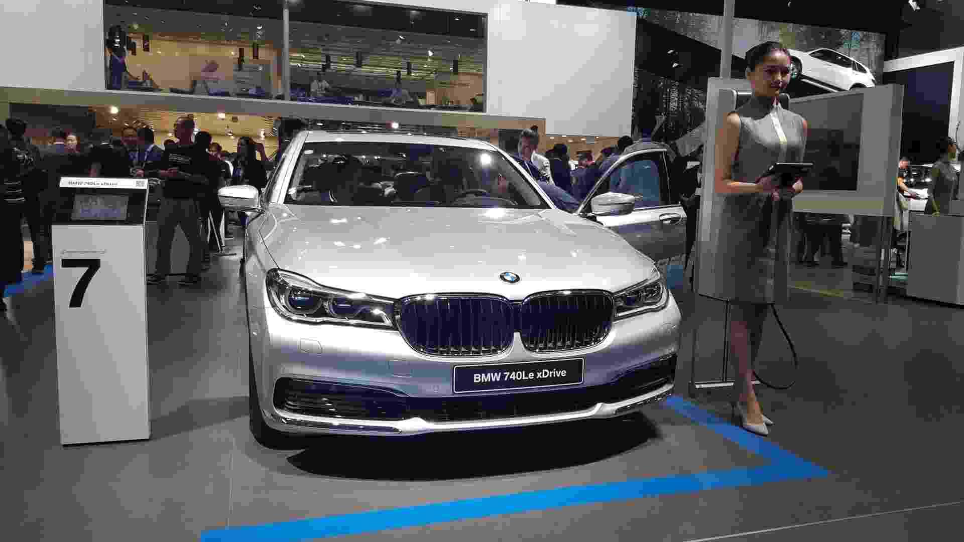 BMW 740Le xDrive - Leonardo Felix/UOL