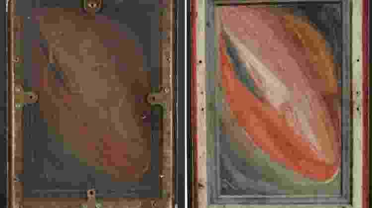 Pintura atrás - PA - PA
