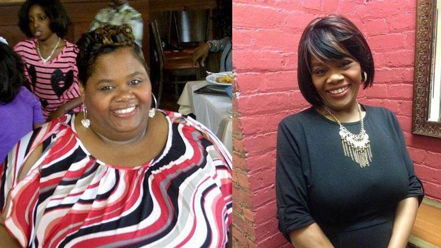 Chasity Davis emagreceu, ao todo, 109 quilos - Reprodução/Facebook