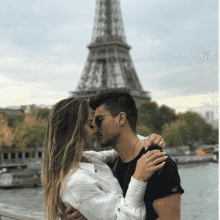Mayra Cardi e Arthur Aguiar em Paris - Reprodução/Instagram/mayracardi