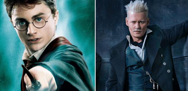 Daniel Radcliffe e Johnny Depp