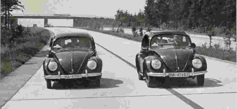 KdF: protótipo que deu origem ao Volkswagen original tinha direito sobre linhas questionado na Justiça alemã - Divulgação/Volkswagen