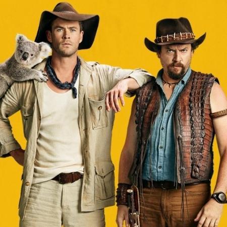 """Chris Hemsworth e Danny McBride em """"Dundee"""": Parece filme, mas não é - Divulgação"""