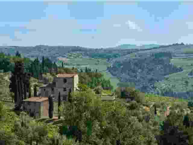 A casa do pintor Michelangelo na Toscana - Reprodução/Handsome Properties International