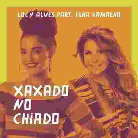Capa do novo single de Lucy Alves com participação de Elba Ramalho - Divulgação