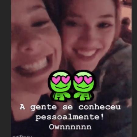 Fernanda Souza e Ana Clara - Reprodução/Instagram