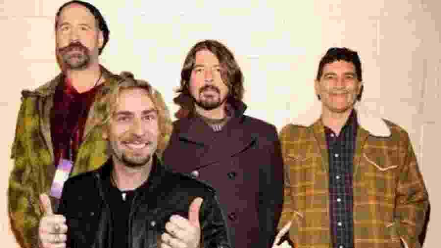 Já imaginou o Nirvana com Chad Kroeger? A internet, claro, sim - Reprodução