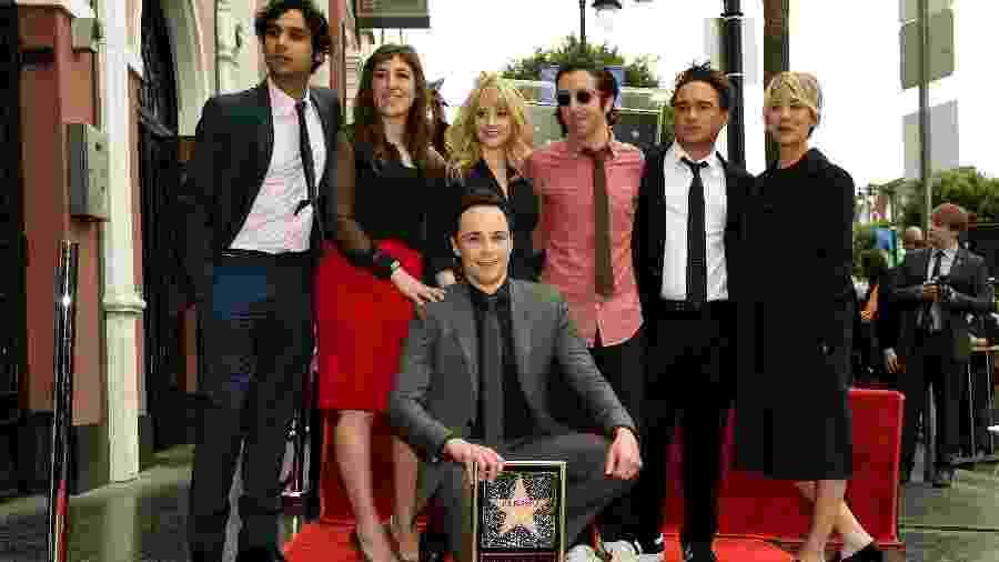 Em 2015, Jim Parsons ganhou uma estrela na Calçada da Fama de Hollywood - Mark Ralston/AFP