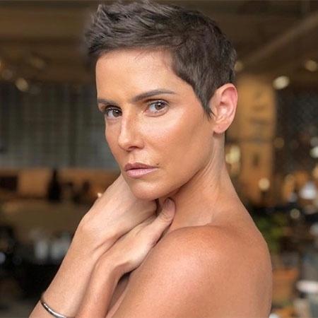 Por conta de Karola, Deborah Secco adota cabelo curtinho - Reprodução/Instagram